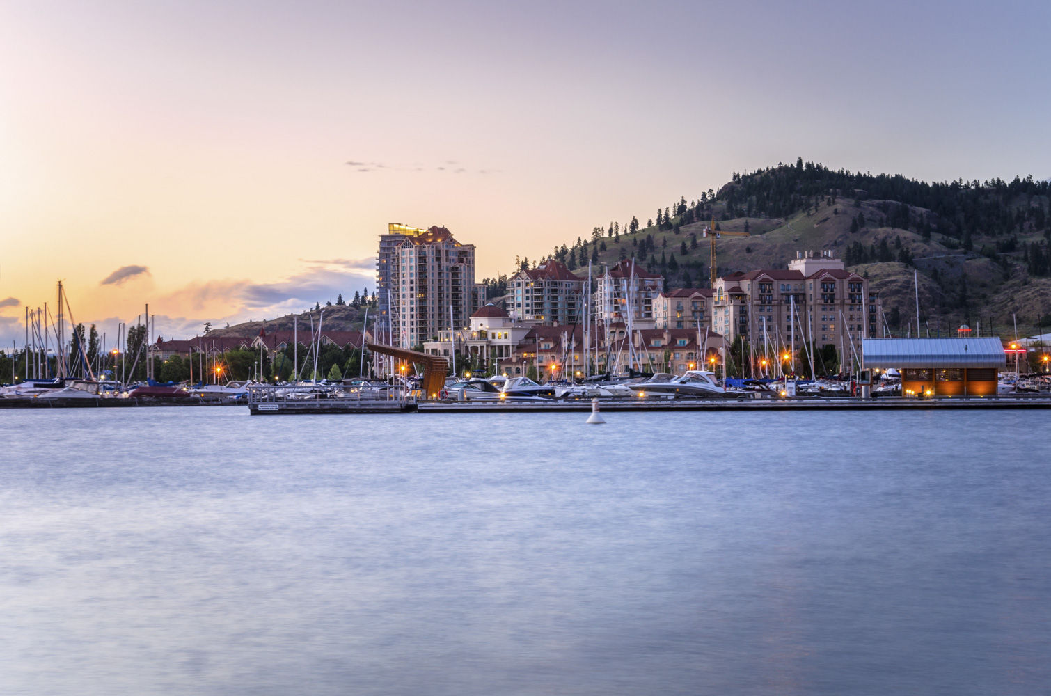 Enjoy a summer's evening from your Kelowna hotel by catching a concert or music festival downtown.